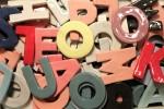 Smukke bogstaver i keramik fra HEIMAT