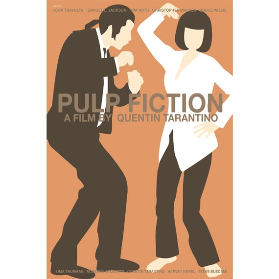 Pulp Fiction – Dagens poster