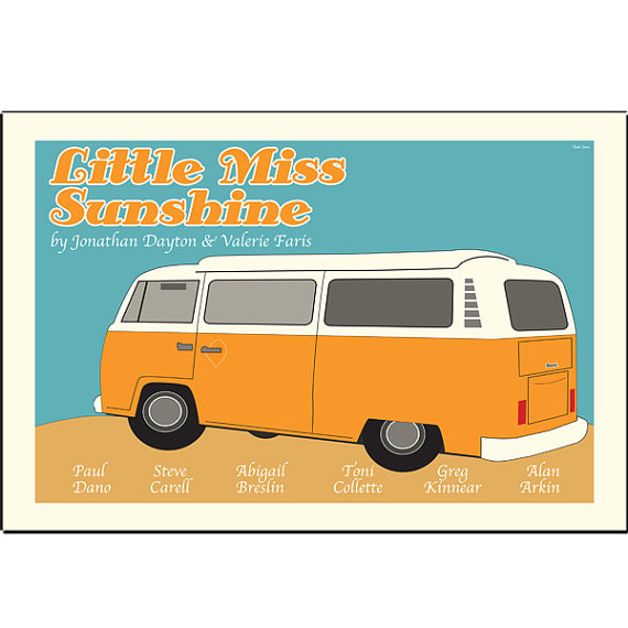 Little Miss Sunshine – Dagens poster