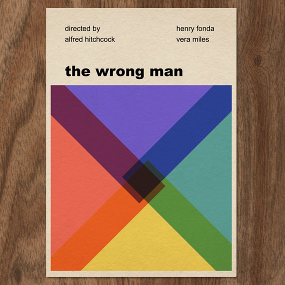 The Wrong Man – Dagens poster