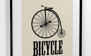 Life Is Like Riding a Bike – Dagens Poster