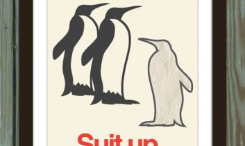 Suit UP! – Dagens poster
