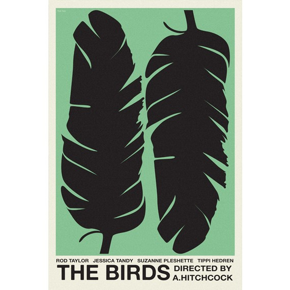 The Birds – Dagens Poster