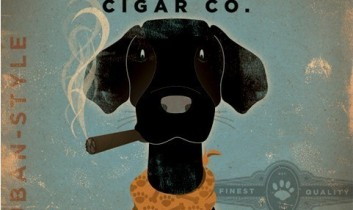 Black Dog Cigar – Dagens poster