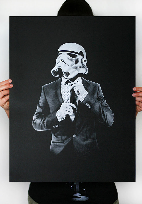 Smart trooper – Dagens Poster