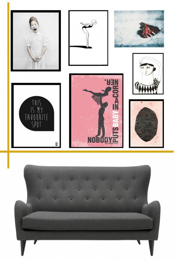 billedevaeg-plakater-posteres-graifks-illustrationer-indretnin-det-gyldne-snit