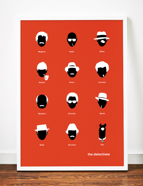 TV Detectives – Dagens poster