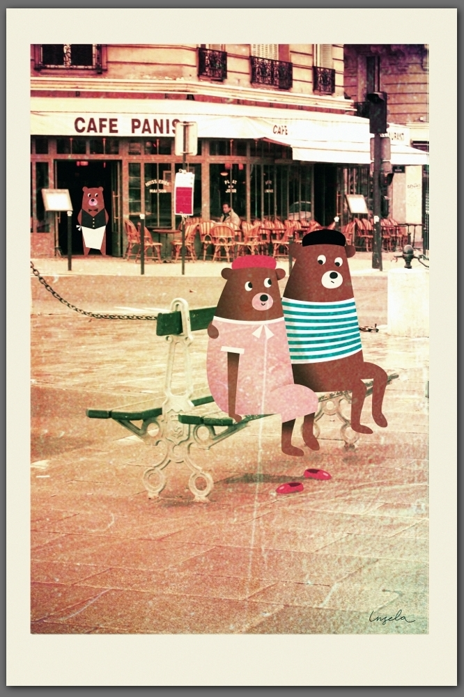 Bears in Paris – Dagens Poster