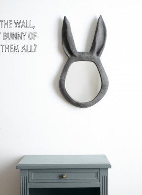 Mirror mirror on the wall, who is the cutest bunny of them all?