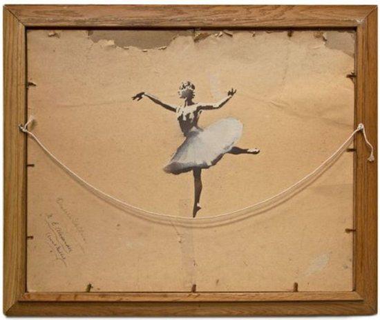 Banksy - Ballarina