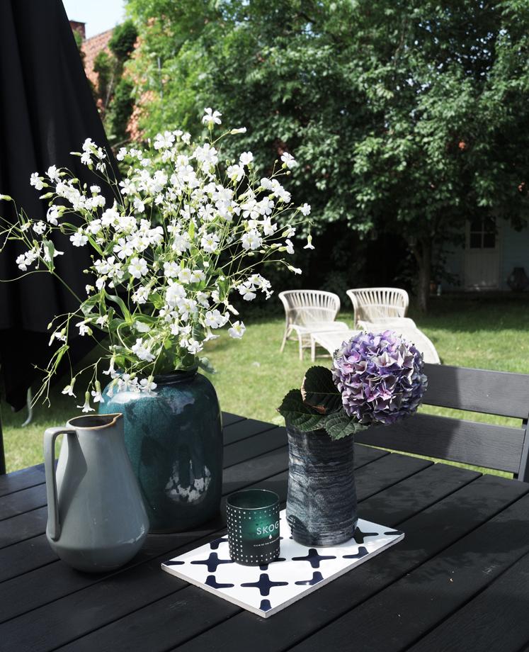 En kærlighedshistorie og en tur rundt i min have