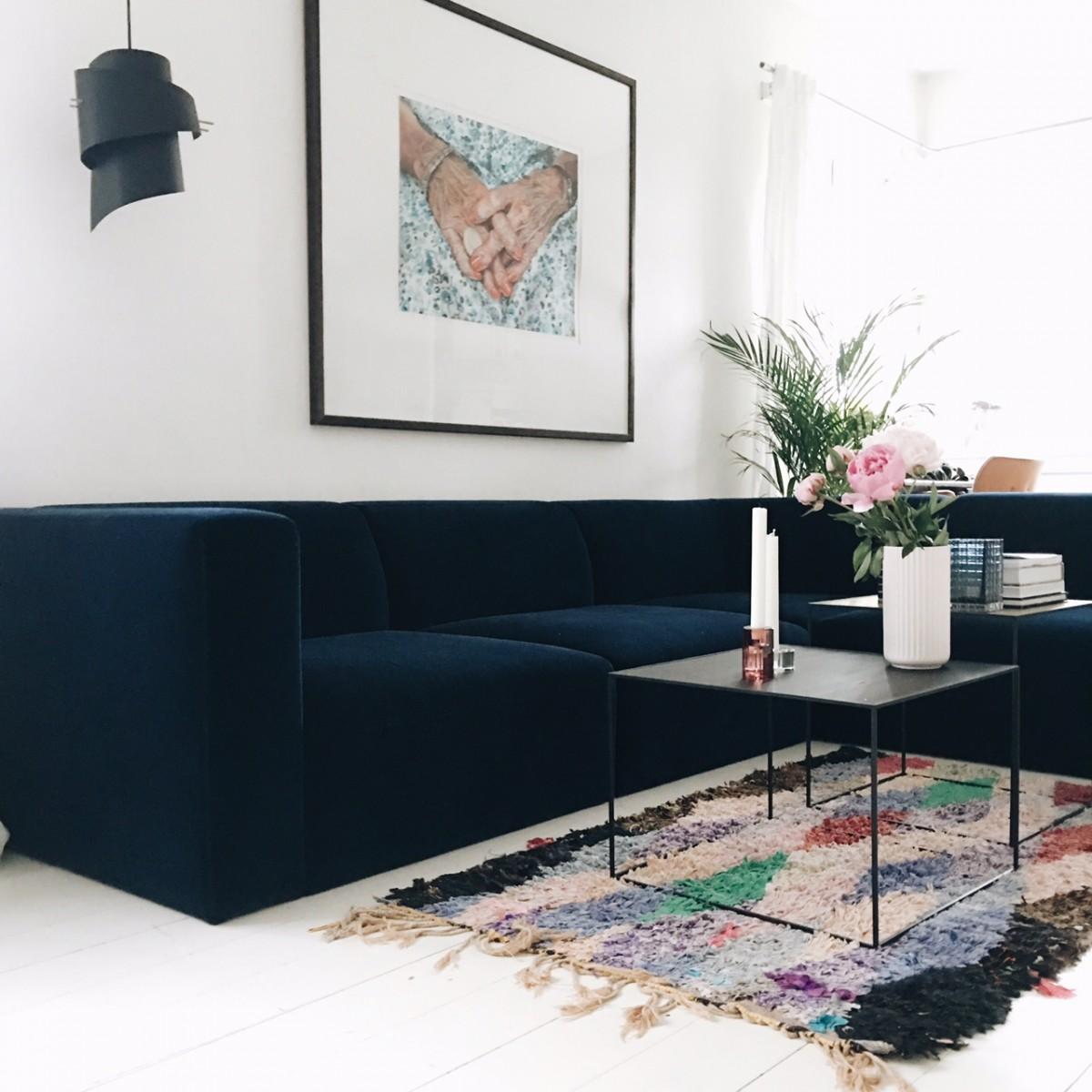 MY velvet dream sofa... Finally