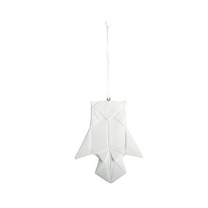 Porcelæn foldet som papir