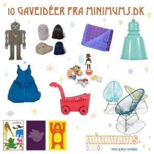 10 gaver til de små fra Minimums.dk