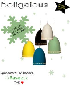 Ekstra Konkurrence – Vind en lampe fra Base 212