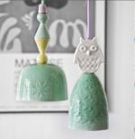 Lampe i porcelæn fra Rie Elise Larsen