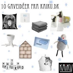 Inspiration til julegave shoppingen fra Kaiku.dk