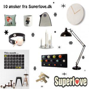10 ønsker fra Superlove.dk
