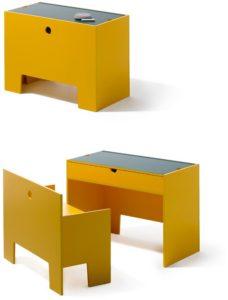 Grey & yellow mode