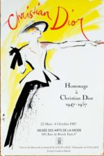 Christian Dior – dagens poster