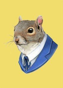 Portræt af en mus – Dagens poster