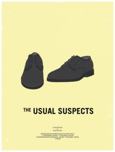 Usual Suspects – Dagens poster
