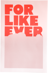 Pink & Red – Dagens poster