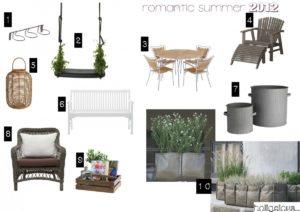 Inspiration til den romantiske have eller altan