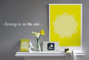 'Doily Print – SUNSHINE' – Dagens poster