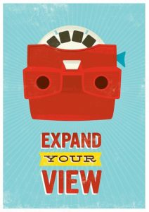 ''Expand your view'' – Dagens poster