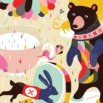 """""""Inside the rainbow"""" – Dagens poster til børneværelset"""