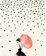 Polka Rain – Dagen poster