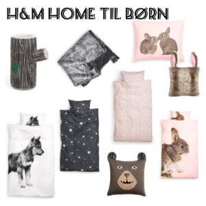 H&M Home, nu til børneværelset