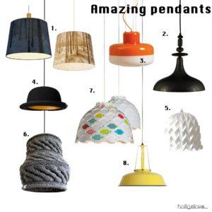 lampe-belysning-loftlampe-pendel-lamp-strikket-lampeskc3a6rm-pendant-vintage-industrilampe-gul-indretning-home-decor-interic3b8r