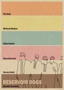 Reservoir Dogs – Dagens Poster
