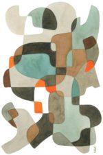 Abstrakt kunst – Dagens Poster