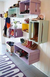 Skønne løsninger til sko-opbevaring