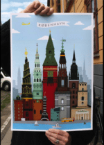 Copenhagen-Dagens Poster