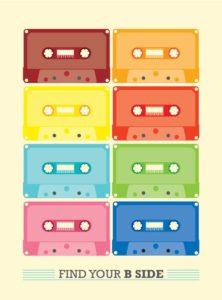 Vintage Cassette – Dagens Poster