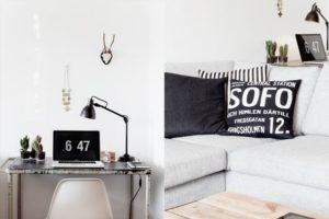 Smukt hjem – grafisk tråd