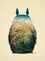 Tonari no Totoro – Dagens Poster