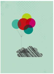 Ballonsky – Dagens Poster