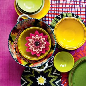 Smuk farverig keramik