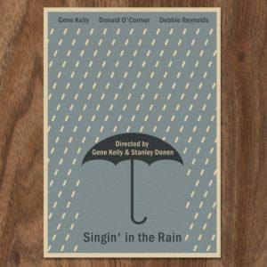 Singin' in the Rain – Dagens Poster