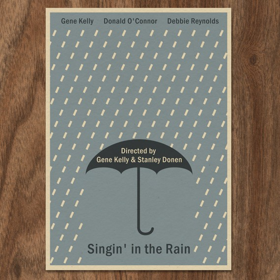 poster-grafisk-design-graphic-illustration-plakat-print-grace-kelly-singin-in-the-rain-fred-astatire
