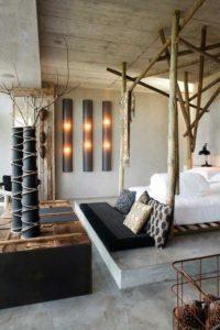 Udenfor indenfor – rå materialer i indretningen