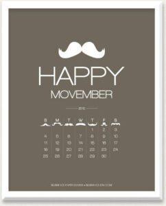 Happy Movember – Dagens Poster