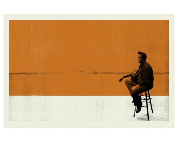 poster-print-plakat-grafisk-illustration-graphic-design-johnny-cash