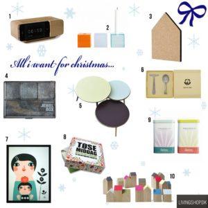 10 lækre ønsker eller gaveidéer til dig!
