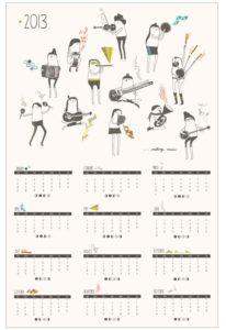 Kalender 2013 – dagens posters!
